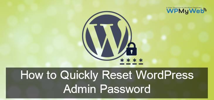 Reset WordPress Login Password