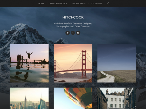 WordPress Portfolio Themes 2016