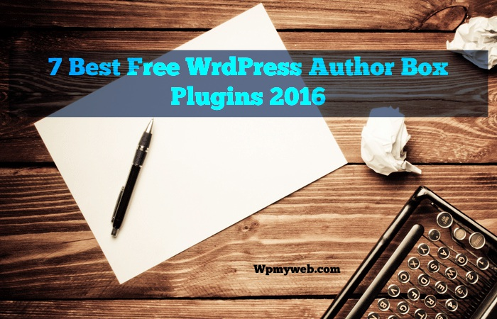 WordPress Author Box Plugins