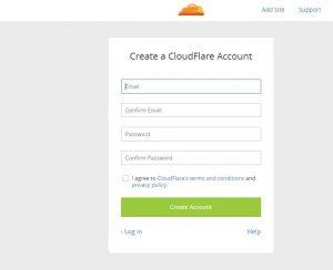 Setup CloudFlare CDN
