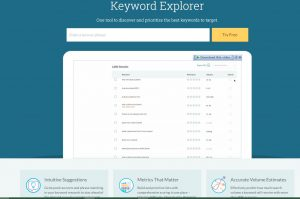 moz keyword research tools