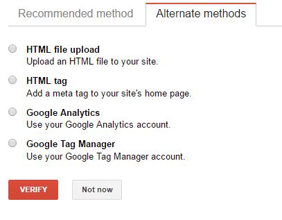 Google Search Console Verify2