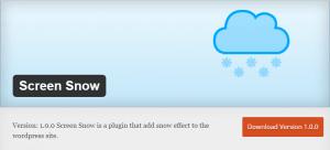 Screen Snow