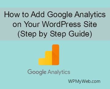 Add Google Analytics on WordPress