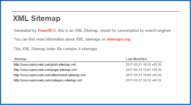 how to create xml sitemap using sitemap generator tool wpmyweb