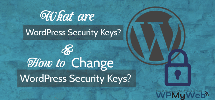 Change WordPress Security Keys