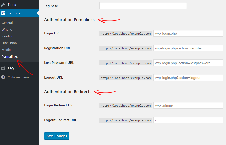 WordPress Custom Login URL
