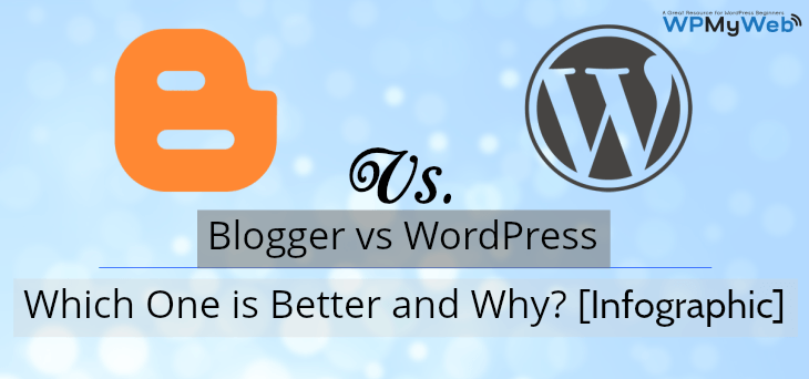 Blogger vs WordPress Photo