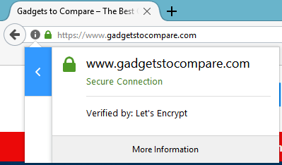SSL Site is secure