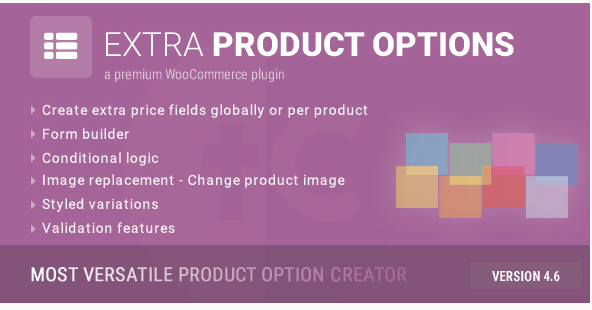 Woocommerce Extra Product Option