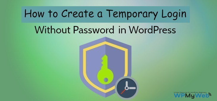 Create a Temporary Login