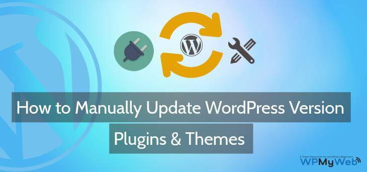 Manually Update WordPress Version
