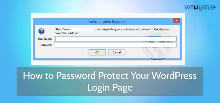 Password Protect WordPress Login Page