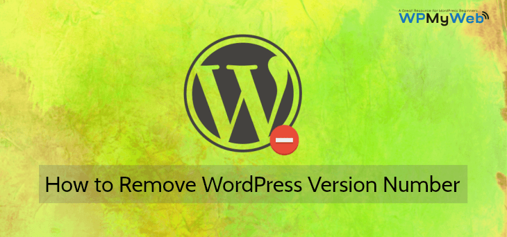 Remove WordPress Version Number