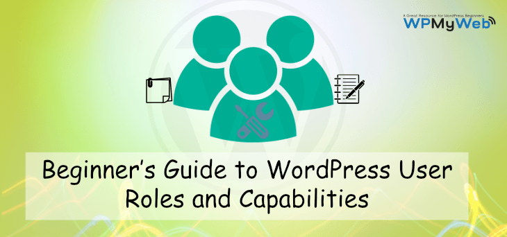 WordPress User Roles and Capabilities PNG