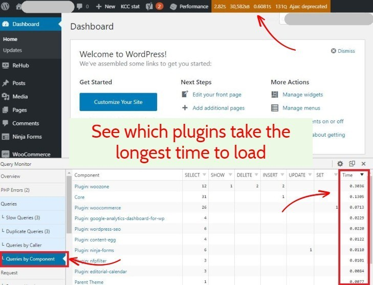 Query Monitor WordPress Plugin