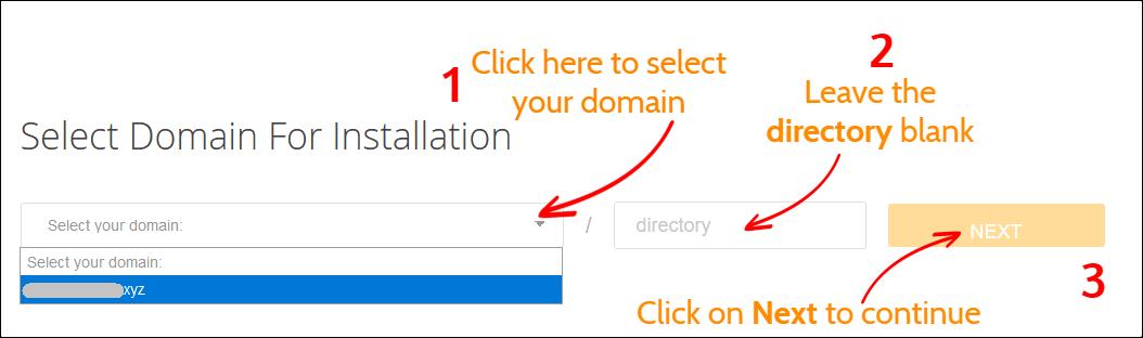 cPanel WordPress Installation