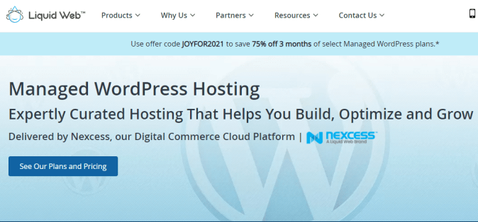 Liquid Web Managed WordPress