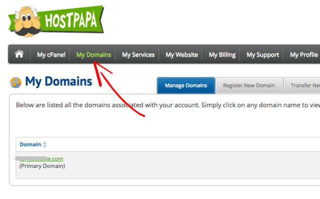 HostPapa Domains