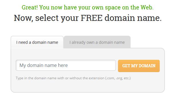 HostPapa Registering a domain